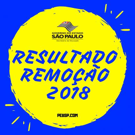 resultado remoção 2018